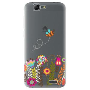 Plastové pouzdro iSaprio Bee 01 na mobil Huawei G7