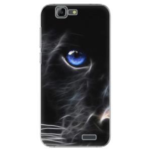 Plastové pouzdro iSaprio Black Puma na mobil Huawei G7
