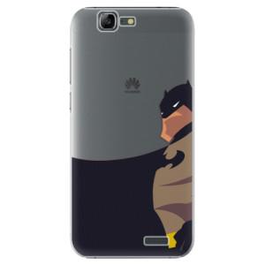 Plastové pouzdro iSaprio BaT Comics na mobil Huawei G7