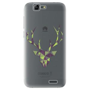 Plastové pouzdro iSaprio Deer Green na mobil Huawei G7