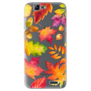 Plastové pouzdro iSaprio Autumn Leaves 01 na mobil Huawei G7