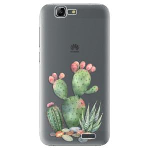 Plastové pouzdro iSaprio Cacti 01 na mobil Huawei G7