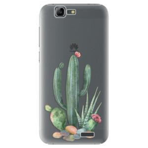 Plastové pouzdro iSaprio Cacti 02 na mobil Huawei G7