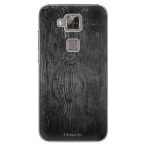 Plastové pouzdro iSaprio Black Wood 13 na mobil Huawei G8