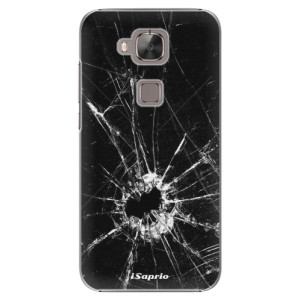Plastové pouzdro iSaprio Broken Glass 10 na mobil Huawei G8