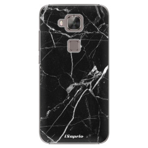 Plastové pouzdro iSaprio Black Marble 18 na mobil Huawei G8