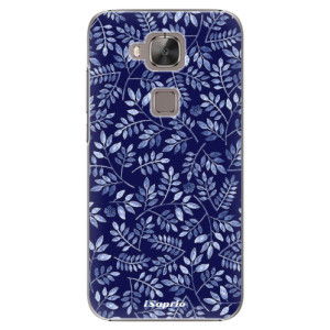 Plastové pouzdro iSaprio Blue Leaves 05 na mobil Huawei G8