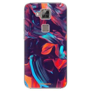 Plastové pouzdro iSaprio Color Marble 19 na mobil Huawei G8