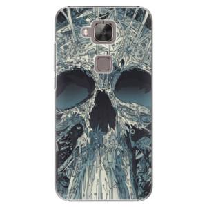 Plastové pouzdro iSaprio Abstract Skull na mobil Huawei G8