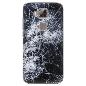 Plastové pouzdro iSaprio Cracked na mobil Huawei G8