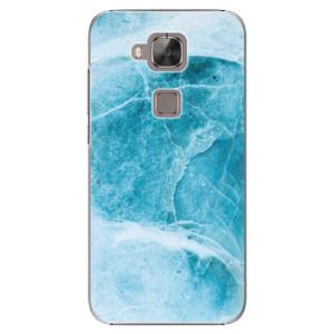 Plastové pouzdro iSaprio Blue Marble na mobil Huawei G8