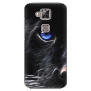 Plastové pouzdro iSaprio Black Puma na mobil Huawei G8