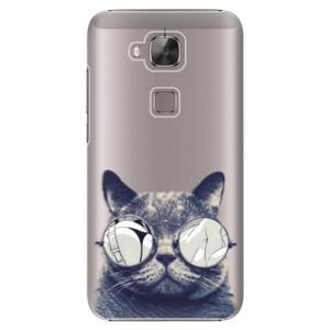 Plastové pouzdro iSaprio Crazy Cat 01 na mobil Huawei G8