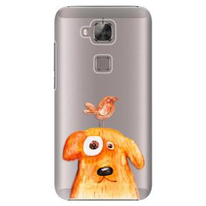 Plastové pouzdro iSaprio Dog And Bird na mobil Huawei G8