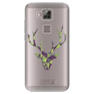 Plastové pouzdro iSaprio Deer Green na mobil Huawei G8