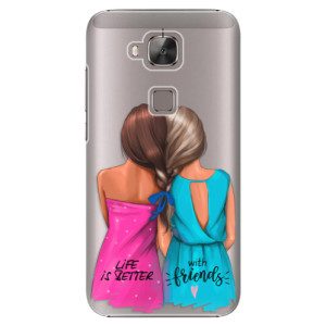 Plastové pouzdro iSaprio Best Friends na mobil Huawei G8