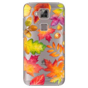 Plastové pouzdro iSaprio Autumn Leaves 01 na mobil Huawei G8