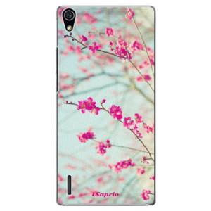 Plastové pouzdro iSaprio Blossom 01 na mobil Huawei P7