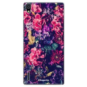 Plastové pouzdro iSaprio Flowers 10 na mobil Huawei P7