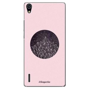 Plastové pouzdro iSaprio Digital Mountains 10 na mobil Huawei P7