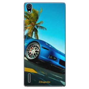Plastové pouzdro iSaprio Car 10 na mobil Huawei P7