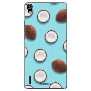 Plastové pouzdro iSaprio Coconut 01 na mobil Huawei P7