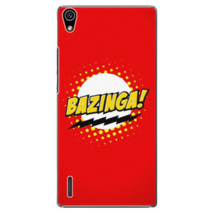 Plastové pouzdro iSaprio Bazinga 01 na mobil Huawei P7