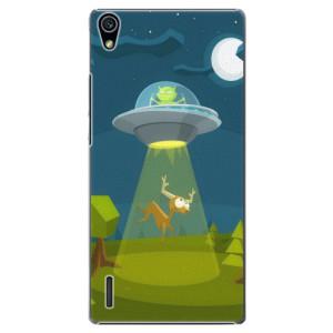 Plastové pouzdro iSaprio Alien 01 na mobil Huawei P7