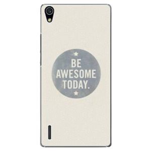 Plastové pouzdro iSaprio Awesome 02 na mobil Huawei P7