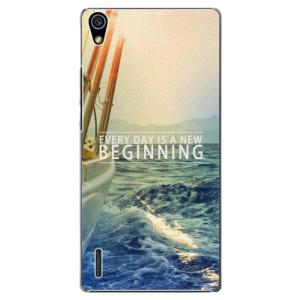 Plastové pouzdro iSaprio Beginning na mobil Huawei P7