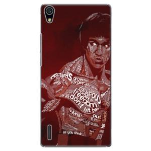 Plastové pouzdro iSaprio Bruce Lee na mobil Huawei P7
