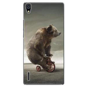 Plastové pouzdro iSaprio Bear 01 na mobil Huawei P7