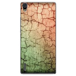 Plastové pouzdro iSaprio Cracked Wall 01 na mobil Huawei P7