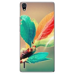 Plastové pouzdro iSaprio Autumn 02 na mobil Huawei P7