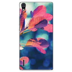 Plastové pouzdro iSaprio Autumn 01 na mobil Huawei P7