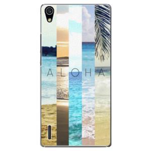 Plastové pouzdro iSaprio Aloha 02 na mobil Huawei P7