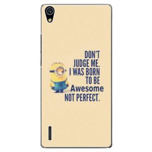 Plastové pouzdro iSaprio Be Awesome na mobil Huawei P7