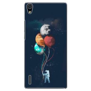 Plastové pouzdro iSaprio Balloons 02 na mobil Huawei P7