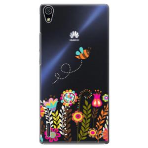 Plastové pouzdro iSaprio Bee 01 na mobil Huawei P7