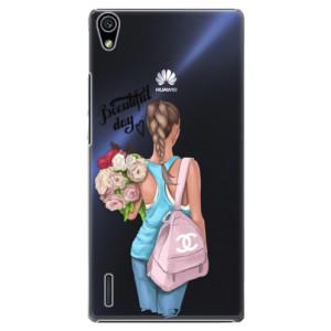 Plastové pouzdro iSaprio Beautiful Day na mobil Huawei P7