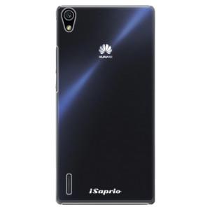 Plastové pouzdro iSaprio 4Pure mléčné bez potisku na mobil Huawei P7