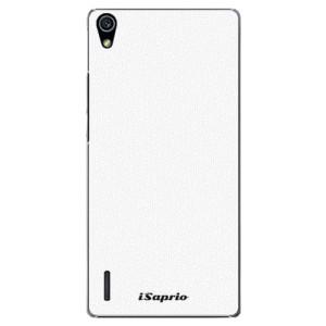 Plastové pouzdro iSaprio 4Pure bílé na mobil Huawei P7