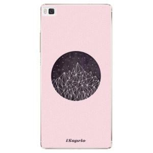 Plastové pouzdro iSaprio Digital Mountains 10 na mobil Huawei P8