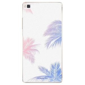 Plastové pouzdro iSaprio Digital Palms 10 na mobil Huawei P8