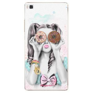 Plastové pouzdro iSaprio Donuts 10 na mobil Huawei P8