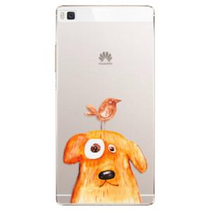 Plastové pouzdro iSaprio Dog And Bird na mobil Huawei P8
