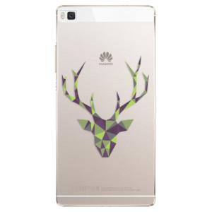 Plastové pouzdro iSaprio Deer Green na mobil Huawei P8