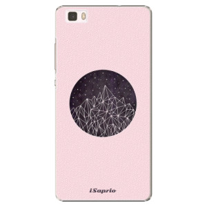 Plastové pouzdro iSaprio Digital Mountains 10 na mobil Huawei P8 Lite