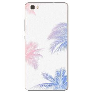 Plastové pouzdro iSaprio Digital Palms 10 na mobil Huawei P8 Lite