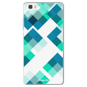 Plastové pouzdro iSaprio Abstract Squares 11 na mobil Huawei P8 Lite